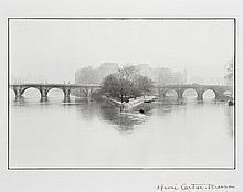 Henri CARTIER-BRESSON 1908-2004 Square du Vert Galant et du Pont Neuf, Ile de la Cité, Paris - 1951 Épreuve argentique (c.1990)