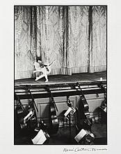 Henri CARTIER-BRESSON 1908-2004 Le Lac des Cygnes, Théâtre Bolchoï, Moscou, Russie -1954 Épreuve argentique (c. 1990)