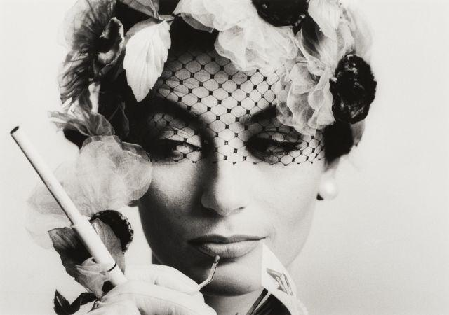 William KLEIN (né en 1928) Anouk Aimée, Vogue, Paris - 1961 Épreuve argentique