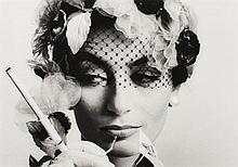 William KLEIN (né en 1928) Anouk Aimée, Vogue, Paris - 1961 Épreuve argentique