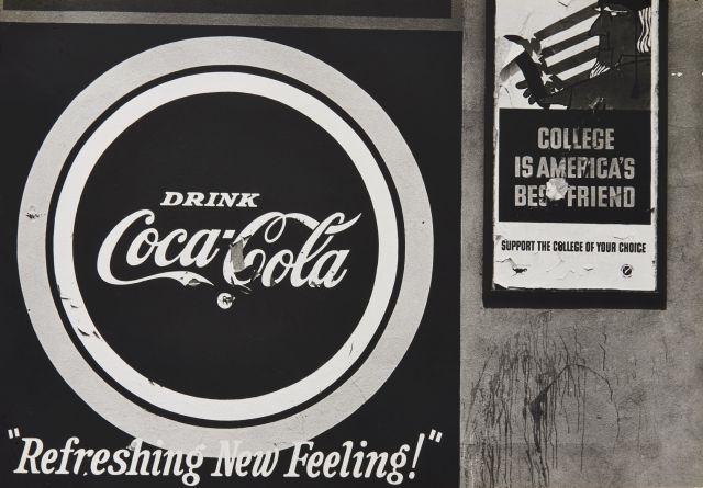 Dennis HOPPER (1936 - 2010) Refreshing New Feeling - vers 1960 Épreuve argentique sur papier mat