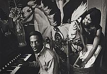 Dennis HOPPER (1936 - 2010) Ike & Tina Turner - 1965 Épreuve argentique sur papier mat