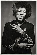 Gered MARKOWITZ Né en 1946 Jimi Hendrix, Smoking - 1967 Épreuve argentique