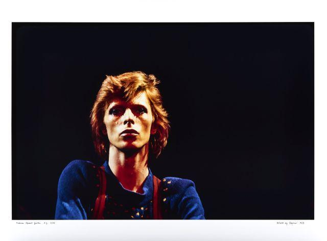 DAGMAR  David Bowie, Manhattan Square - Juillet 1974 Épreuve en couleurs