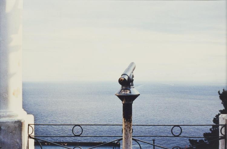 Luigi GHIRRI (1943-1992) Capri, série Paesaggio italiano 1- 1981 Épreuve argentique en couleurs d''époque