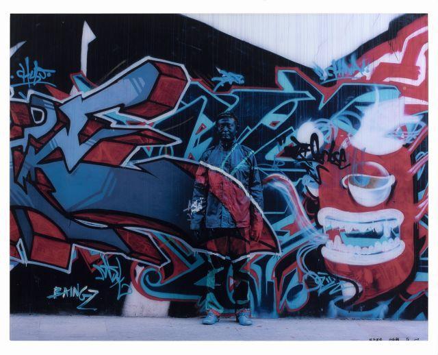 Liu BOLIN (Né en 1973) Camouflage n°69 (série Hiding in the City) - 2009 Épreuve en couleurs montée sous diasec
