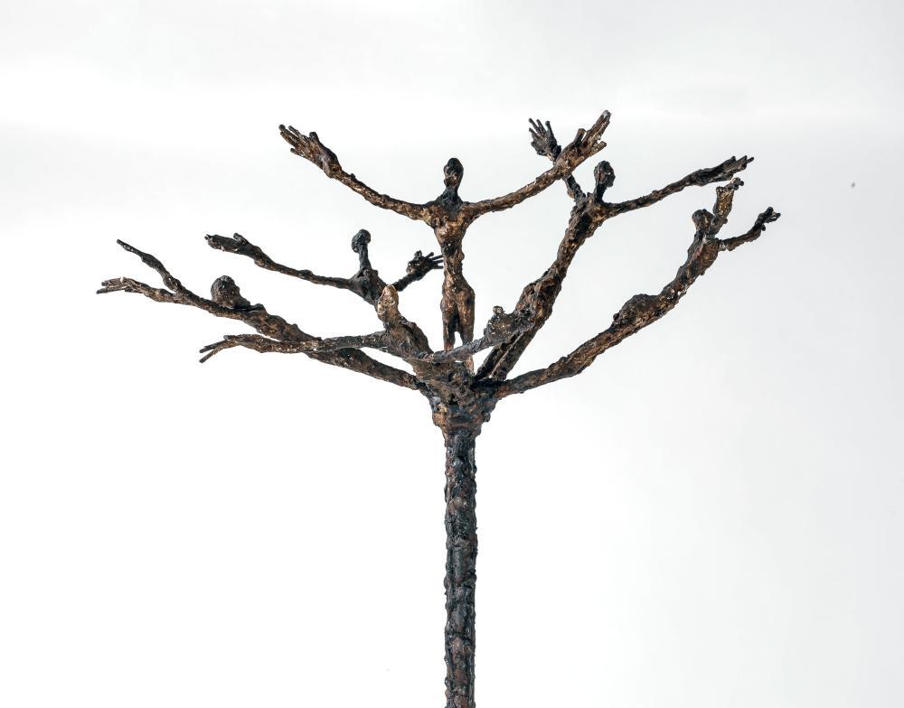 Ndary LÔ 1961-2017 - Sénégal Arbre de vie, 2010 Fers à béton soudés