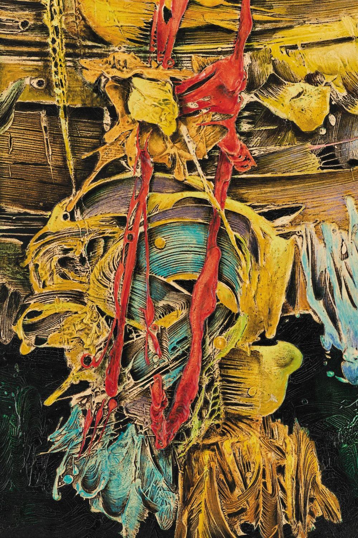 ¤ Alexis PRELLER 1911-1975 - Afrique du Sud Birth of Venus, 1965 Huile sur toile