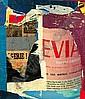 JACQUES VILLEGLE (né en 1926) CARREFOUR-ALGERIE-EVIAN, 26 avril 1961 Affiches lacérées marouflées sur toile, Jacques Mahe de la Villegle, Click for value