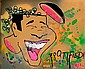 ¤DOZE GREEN (Jeffrey Green dit) (né en 1964 -) ZOOTIFIED, 1985 Acrylique sur toile, Doze  Green, Click for value