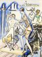 ¤ Kees VAN DONGEN (Delfshaven, 1877 - Monaco, 1968) VENISE SEUIL DES EAUX, 1925 - 12 planches