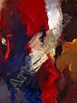 Jean MIOTTE (né en 1926) SANS TITRE Huile sur toile, Jean Miotte, Click for value