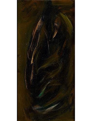 HAKKI ANLI (1906 - 1990) SANS TITRE, 1966 Huile sur toile