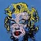 TILT (né en 1973) MARILYN, 2010 Peinture aérosol et acrylique sur toile,  TILT, Click for value