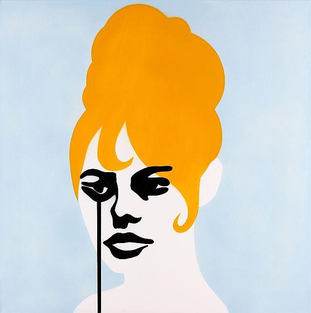 PURE EVIL (né en 1968) ROGER VADIM'S NIGHTMARE (BRIGITTE BARDOT), 2011 Acrylique sur toile