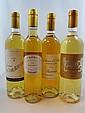 5 bouteilles 1 bt : CHÂTEAU LA TOUR BLANCHE 2007 1er cru Sauternes