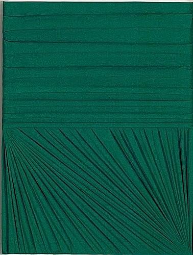 Umberto MARIANI (Né en 1936) SENZA TITOLO, 2008 Technique mixte sur plâtre dans emboitage en plexiglas