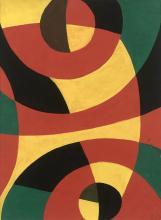Etienne BEÖTHY 1897 - 1961 Sans titre - Circa 1954 Gouache sur papier