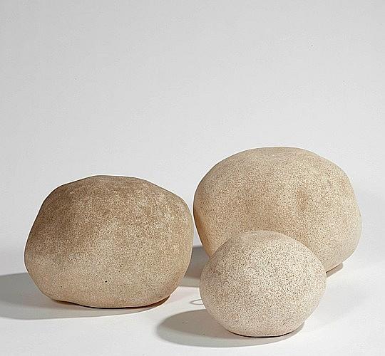 André CAZENAVE (Né en 1928) Suite de trois rochers lumineux