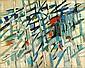 Jacques GERMAIN (1915-2001) SANS TITRE, 1958 Huile sur toile signée et datée