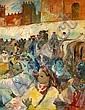Edouard Léon Louis EDY LEGRAND (Bordeaux, 1892 - Bonnieux, 1970) L'Aouache, 1943 Huile sur toile, Edouard-Léon-Louis Edy-Legrand, Click for value