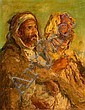 Edouard VERSCHAFFELT (Gand, 1874 - Bou Saâda, 1955) La prière Huile sur toile, Edouard Verschaffelt, Click for value