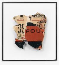 Raymond HAINS (1926 - 2005) POU - 1960 Arrachage d'affiches