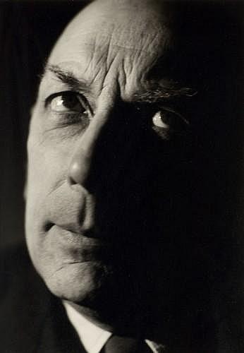 Paul FACCHETTI (né 1912) Portrait de Michaux