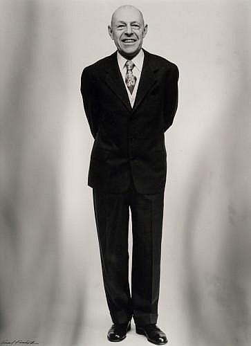 Paul FACCHETTI (né en 1912) Portrait de Dubuffet