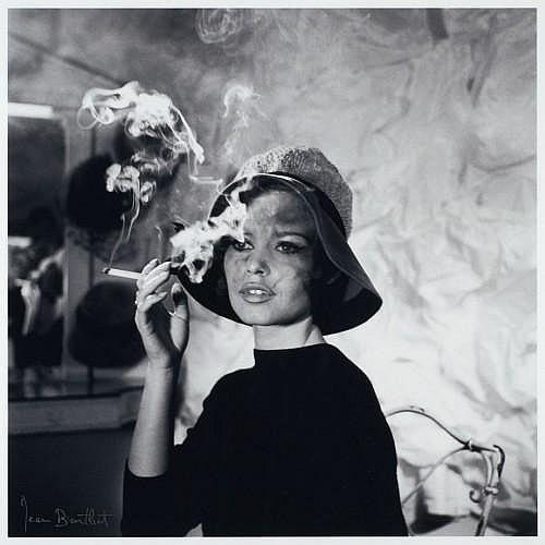 Jean BARTHET (1920-2000) Brigitte Bardot, circa 1960