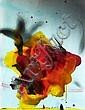 Tony SOULIE (né en 1955) FLEURS RITUELLES, 2003 Acrylique sur tirage photographique contrecollé sur aluminium sur panneau, Raphaël Ghislain, Click for value