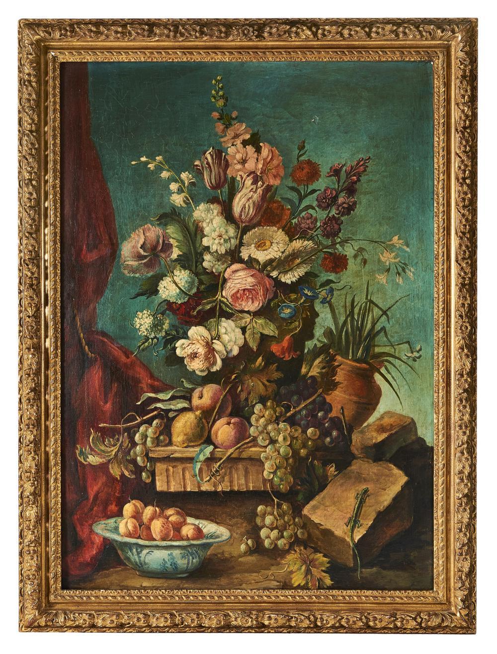 ÉCOLE VERS 1900 Suite de quatre tableaux