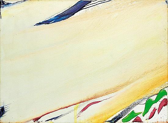 Olivier DEBRE (1920-1999) ESQUISSE BOULOGNE, 1987-88 huile sur toile