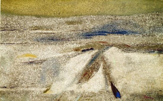 Arpad SZENES (1897-1985) SANS TITRE Gouache sur papier