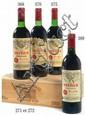 3 bouteilles CHÂTEAU MARGAUX 2000 1er GC Margaux Caisse bois d'origine cerclée (photo)