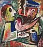 Gustave SINGIER (Warneton, 1909 - Paris, 1984) SANS TITRE, 1932 Huile sur panneau