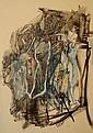 Camille BRYEN (1907-1977) RACINE, circa 1946 Technique mixte sur papier