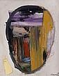 Rafael CANOGAR (né en 1935) CABEZA XVI, 1989 Huile sur toile