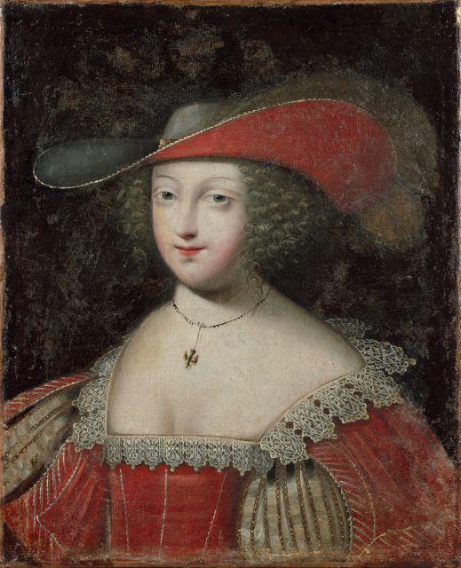 Attribué à Jean Ducayer Actif en France dans la première partie du XVIIe siècle Jeune femme à la colombe Huile sur toile