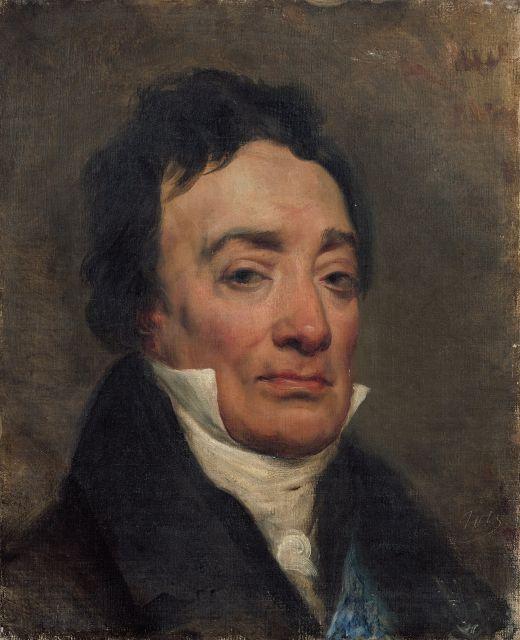 Horace Vernet Paris, 1789 - 1863 Portrait de Charles Bernard, baron de Ballainvilliers Huile sur toile
