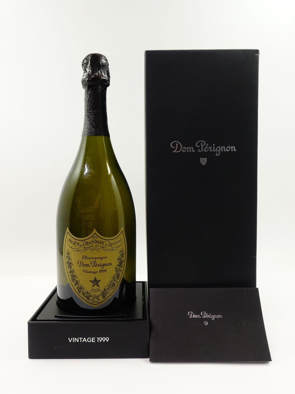 1 bouteille CHAMPAGNE DOM PERIGNON 1999 Vintage Coffret d'origine