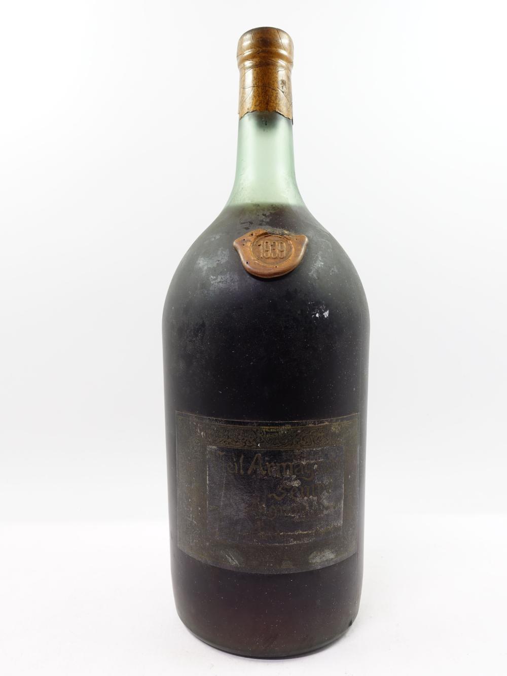 1 pot ARMAGNAC SEMPE 1939 (2,5 L, 40°