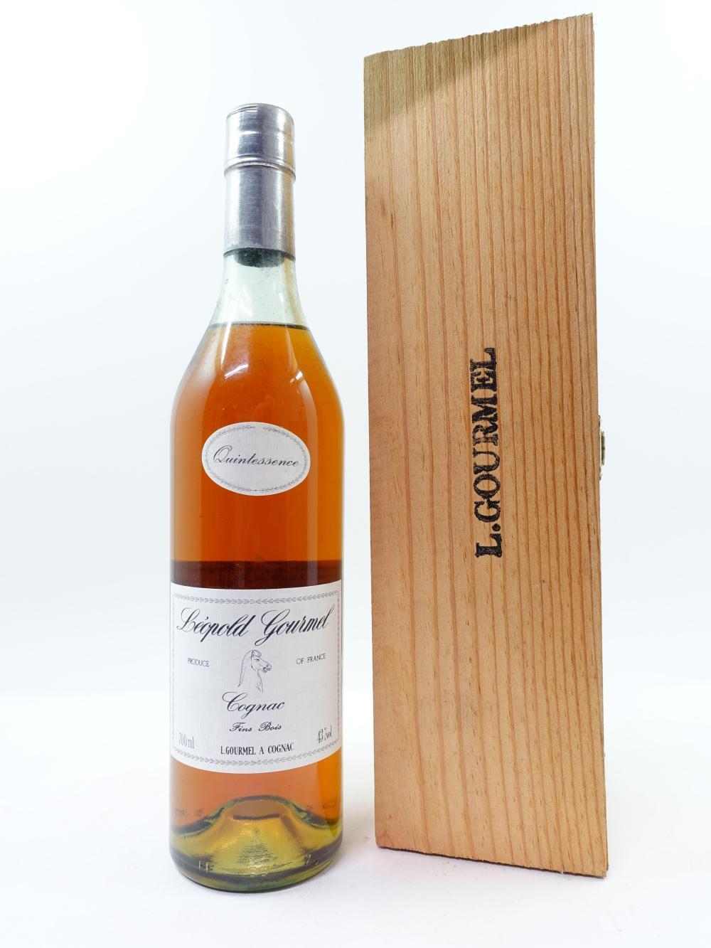 1 bouteille COGNAC LEOPOLD GOURMEL Fins Bois