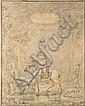 Nicolas-Louis-Albert Delerive Lille, 1755 - Lisbonne, 1818 Cavalier et couple de bergers dans une grotte Crayon noir, Nicolau Luís Alberto Delarive, Click for value