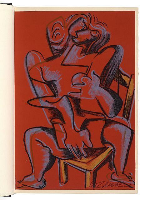 Ossip ZADKINE (Vitebsk, 1890- Paris, 1967) ENSEMBLE DE 2 OUVRAGES