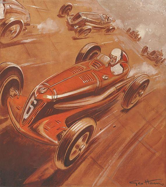 Géo Ham 1900 -1972 Course à Montlhéry 1937