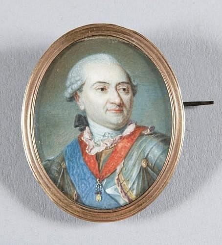 François Louis Lonsing Bruxelles, 1739 - Léognan, 1799 Philippe comte de Noailles, duc de Mouchy, prince de Poix, maréchal de France...