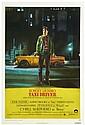 TAXI DRIVER  Affiche de cinéma du film de Martin Scorsese