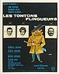 LES TONTONS FLINGUEURS  Affiche de cinéma