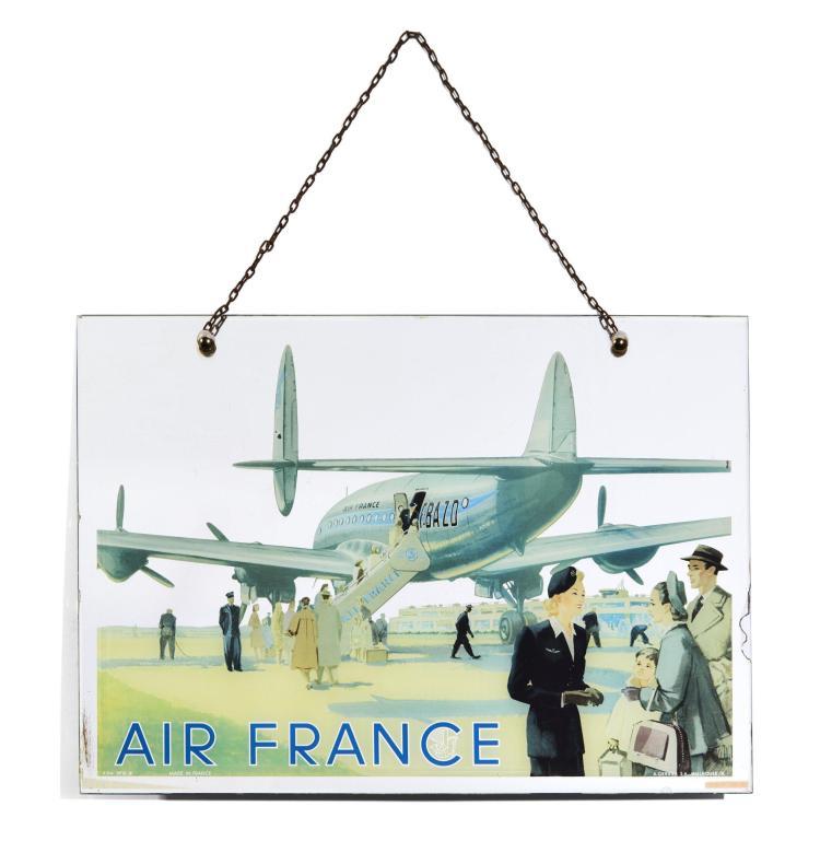 Air france miroir publicitaire for Miroir publicitaire